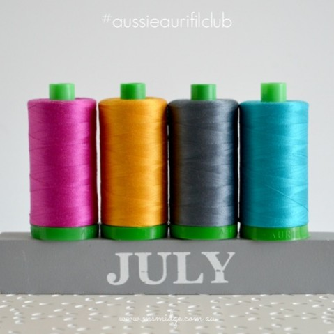 Aussie Aurifil Club July
